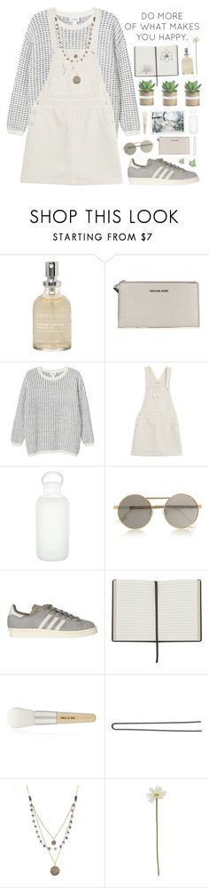 """""""Taurus 4"""" by pantelle ❤ liked on Polyvore featuring Sans [ceuticals], MICHAEL Michael Kors, Monki, AG Adriano Goldschmied, bkr, Le Specs, adidas, Paul & Joe, Acne Studios and Hershesons"""