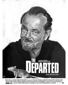 The Departed by Javier Hueto - Collin Seer Movie Co, Film Movie, Indiana Jones Saga, Alien Covenant Movie, Bourne Movies, Gladiator Movie, Seven Movie, John Wick Movie, The Matrix Movie