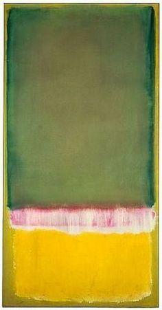New Modern Art Abstract Colour Mark Rothko Ideas Willem De Kooning, Rothko Art, Mark Rothko Paintings, Modern Art, Contemporary Art, Joan Mitchell, Franz Kline, Art Moderne, Art And Architecture