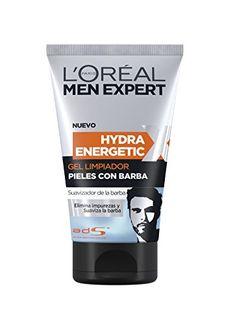 L´Oréal Men Expert Hydra Energetic gel limpiador para pieles con barba 150 ml Loreal Men Expert, Soften Hair, Cedarwood Essential Oil, Vitamins For Skin, Shave Gel, After Shave Balm, Facial Cream, Beard Care, Bearded Men
