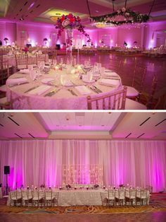 Romantic Reception at the Woodlands Waterway Marriott, TX