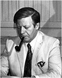 Helmut Schmidt,  German Chancellor