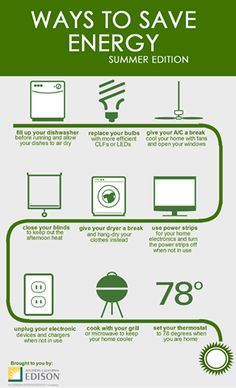 By just unplugging appliances that aren't in use, you can ...