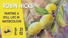 How to paint still life in watercolour with multi talented artist Robin Hicks. Join Robin in her studio as she demonstrates painting still life in watercolou. Watercolor Landscape, Watercolor Paintings, Watercolor Ideas, New Artists, Great Artists, Wet On Wet Painting, New Fine Arts, Painting Still Life, Painting Videos