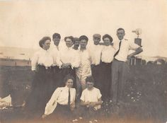 Photograph Snapshot Vintage Black and White Family Dress Hug Smile 1920'S | eBay