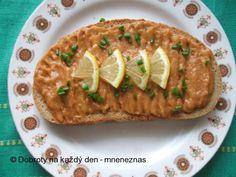 Pikantní lilková pomazánka Baked Potato, Potatoes, Baking, Ethnic Recipes, Food, Bakken, Eten, Bread, Potato