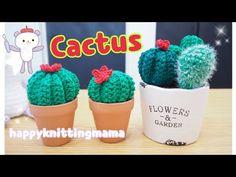 水やり不要🌵サボテンのあみぐるみの編み方【かぎ針】happyknittingmama/ハピママ - YouTube Knit Crochet, Cactus, Make It Yourself, Knitting, Flowers, Youtube, Handmade, Amigurumi, Hand Made