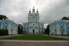 Smolny Cathedral, Saint Petersburg