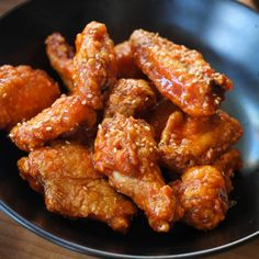 Korean chicken is cooler than in a restaurant!- Korean chicken is cooler than in a restaurant! Korean Chicken, Asian Chicken Recipes, Asian Recipes, Healthy Recipes, Ethnic Recipes, Turkey Recipes, Dinner Recipes, Chicken Snacks, Good Food