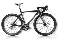 Stradalli Catania Carbon Bike with New Sram Red and Lightweight Meilenstein Whel