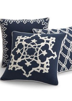 Printed Indoor Accent Pillows.