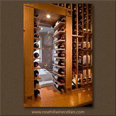 Custom #winestorage solutions from Rosehill Wine Cellars #winecellar #wine