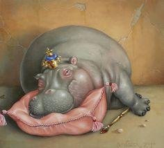 Бегемоты от средневековья до наших дней, супер подборка - Энди Скотт