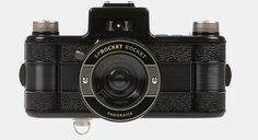 Lomo Sprocket rocket (only 69 EUR)  for panorama shots with super-wide lens; multiple-exposures