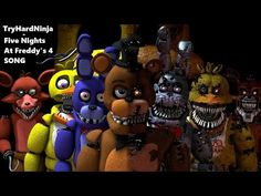The Living Tombstone - FIVE NIGHTS AT FREDDY'S SONG! 1 HOUR [Lyrics in Desc] - YouTube