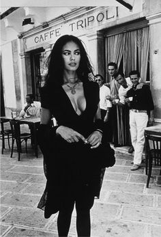 This was shot in Martina Franca, in front of Caffé Tripoli in the old town centre. Ferdinando Scianna - Lavazza calendar 1996