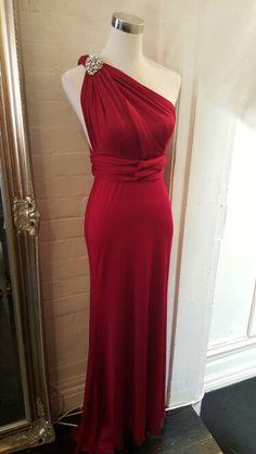 Twist dress.