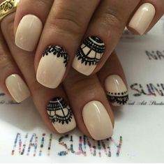 VK is the largest European social network with more than 100 million active users. Lace Print, Easy Nail Art, Simple Nails, Hair And Nails, Nail Art Designs, Hair Beauty, Make Up, Mail Ideas, Finger Nails