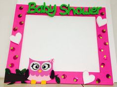Baby Shower Baby Shawer, Baby Owls, Glitter Centerpieces, Owl Parties, Photo Booth Frame, Photo Pin, Ideas Para Fiestas, Holidays And Events, Birthday Cards