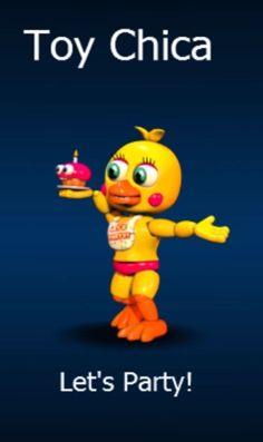 FNaF World Toy Chica!