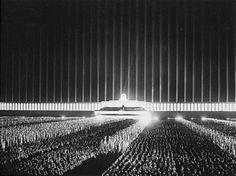 Nuremberg The Cathedral of Light by_Albert_Speer