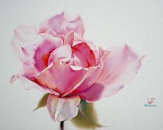 Watercolorist: La Fe #waterblog #color #art by watercolor.blog