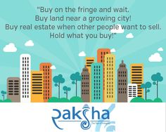 If they say and you think its not the right time to buy #property, you should better read this..!!  #RakshaRealty #RealEstate #ZirakPur #Chandigarh #Mohali