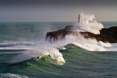 11 Amazing Photos of Centuries Old Lighthouses From All Over The World! Santander, Cantabria, Spain.