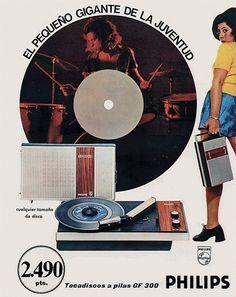 Tocadiscos philips GF 300, 1971