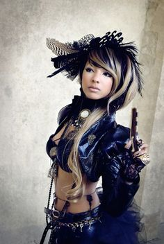 I just died and went to heaven! This is GORGEOUS <3 Steampunk
