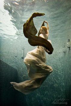under water shot.