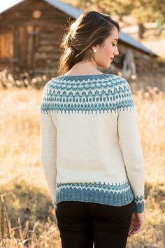 Meltwater Pullover - Media - Knitting Daily
