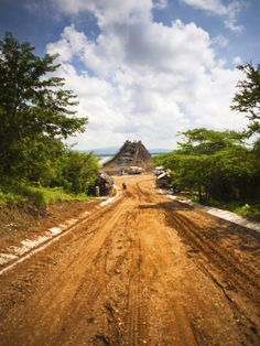 The Volcan El Totumo, Mud Volcano known for Skin-Enhancing Qualities, Cartagena, Colombia by Micah Wright