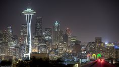 View of the Space Needle and the Pacific Science Center, USA | Spectacular Places