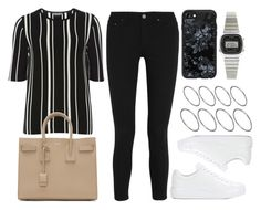 """""""Sin título #12829"""" by vany-alvarado ❤ liked on Polyvore featuring Acne Studios, Dorothy Perkins, Prada, Yves Saint Laurent, Casetify, ASOS and Casio"""
