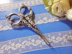 Amazing antique scissors