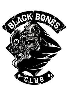 Black Bones Club/ Client: CONVERSE , Be street credit...