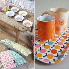 Je fonds totalement pour la vaisselle créative de Mr & Mrs Clynk ! C'est simple, j'ai envie de tout acheter, des bols aux plateaux, en passant par le saladier et...