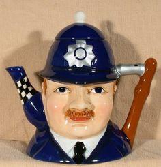 UK Policeman Teapot