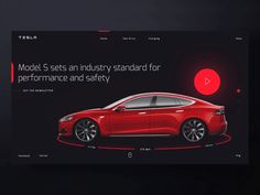 Interaction Design Web - Tesla (🚗/🚓) by Manuel Rovira on Dribbble Pop Design, Design Web, Minimal Web Design, Sketch Design, Interaction Design, Design Thinking, Design Innovation, Retro Logos, Vintage Logos
