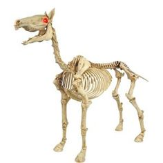 Deliver an extraordinary glow to your home decor by choosing this Home Accents Holiday Standing Skeleton Pony with LED Illuminated Eyes. Haunted House Props, Halloween Haunted Houses, Halloween Skeletons, Halloween Sound Effects, Halloween Sounds, Halloween Skeleton Decorations, Halloween Displays, Halloween Prop, Halloween 2018
