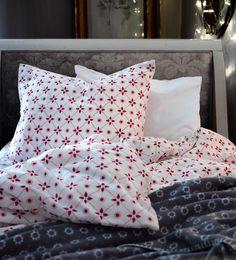 Têxteis que acolhem o Natal.  #decoração #Natal #têxteis #IKEAPortugal