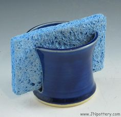 Ceramic Sponge Holder Handmade Stoneware Napkin Caddy by JNpottery, $15.00