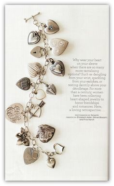 Common Ground: Antique Heart Charms