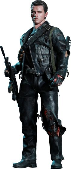 T-800 (Battle Damaged) Terminator Sixth Scale Figure by Hot Toys