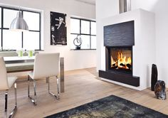 Style fireplaces by Brunner