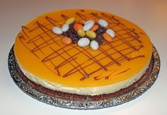 Påsktårta - Apelsinmoussetårta