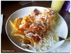 costa rican taco - Costa Rica Soda-with description and video