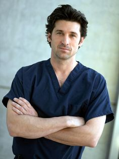 Patrick Dempsey from Grey's Anatomy! Aka. Dr. McDreamy. Oooh, Doctor, I think I've got a fever, and the only thing that will cure it is more McDreamy!