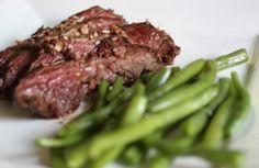 Brown Butter Hanger Steak #paleo #dinner #steak